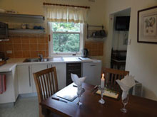 Accommodation at Leura - the priest's cottage